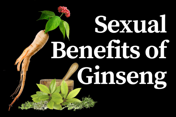 ginseng benefits for male sexuality